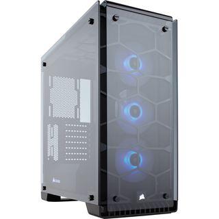Corsair Crystal 570X RGB mit Sichtfenster Midi Tower ohne Netzteil schwarz