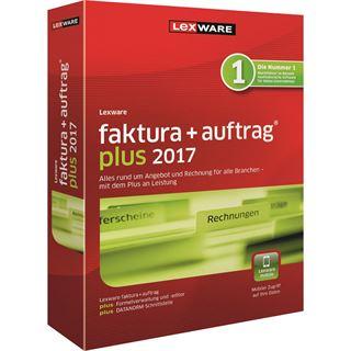 Lexware Faktura + Auftrag Plus 2017 32 Bit Deutsch Buchhaltungssoftware Lizenz 1-Jahr PC (CD)