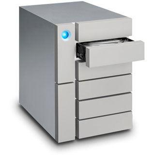 24000GB LaCie 6big Thunderbolt STFK24000400 Extern 2x Thunderbolt 3 40Gb/s / USB 3.1 (Typ-C) silber