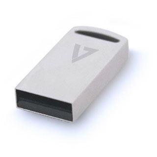 128 GB V7 Flash Drive Nano silber USB 3.0