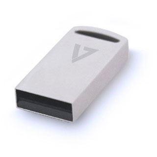 64 GB V7 Flash Drive Mini silber USB 3.0