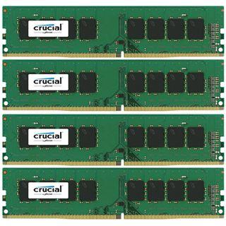 32GB Crucial CT4K8G4DFS824A DDR4-2400 DIMM CL17 Quad Kit