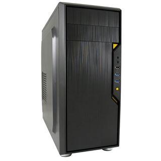 LC-Power 7018B Midi Tower ohne Netzteil schwarz