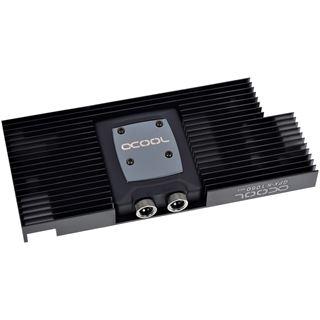 Alphacool NexXxoS GPX - Nvidia Geforce GTX 1060 M02 - mit Backplate - Schwarz