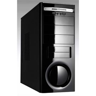 Linkworld 3261-21 Midi Tower 450 Watt schwarz