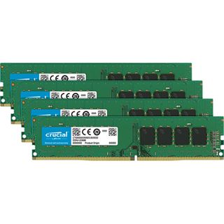 16GB Crucial CT4K4G4DFS824A DDR4-2400 DIMM CL17 Quad Kit