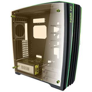 IN WIN H-Frame 2.0 NVIDIA Edition mit Sichtfenster Big Tower 1065 Watt schwarz/gruen