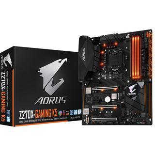 Gigabyte Aorus GA-Z270X-Gaming K5 Intel Z270 So.1151 Dual Channel DDR ATX Retail