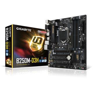 Gigabyte GA-B250M-D3H Intel B250 So.1151 Dual Channel DDR mATX Retail