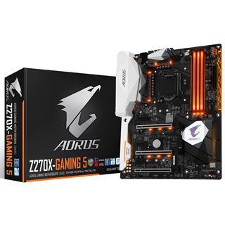 Gigabyte AORUS GA-Z270X-Gaming 5 Intel Z270 So.1151 Dual Channel DDR ATX Retail