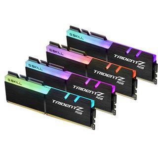 32GB G.Skill Trident Z RGB DDR4-2400 DIMM CL15 Quad Kit