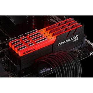 32GB G.Skill Trident Z RGB DDR4-3000 DIMM CL14 Quad Kit