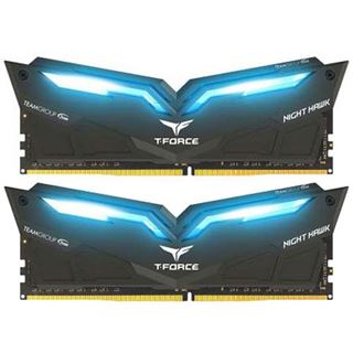 32GB TeamGroup T-Force Nighthawk Blue DDR4-3000 DIMM CL16 Dual Kit