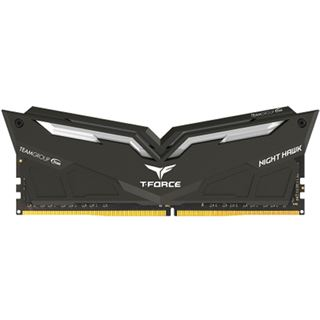 32GB TeamGroup T-Force Nighthawk Red DDR4-3200 DIMM CL16 Dual Kit