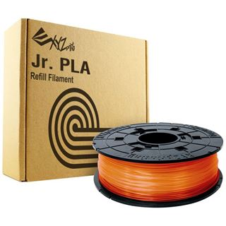 DaVinci Filamentcassette claer Tangerine PLA für 3D Drucker NFC Juni