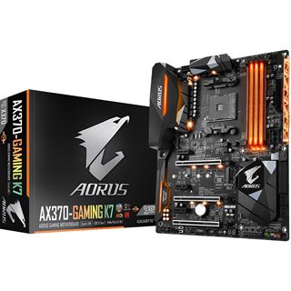 Gigabyte AORUS GA-AX370-Gaming K7 AMD X370 So.AM4 Dual Channel DDR4 ATX Retail