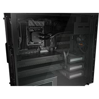 be quiet! Pure Base 600 gedämmt mit Sichtfenster Midi Tower ohne Netzteil schwarz