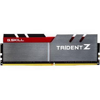 32GB G.Skill Trident Z silber/rot DDR4-3300 DIMM CL16 Quad Kit