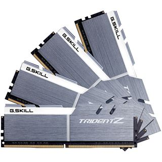 32GB G.Skill Trident Z silber/weiß DDR4-3400 DIMM CL16 Quad Kit