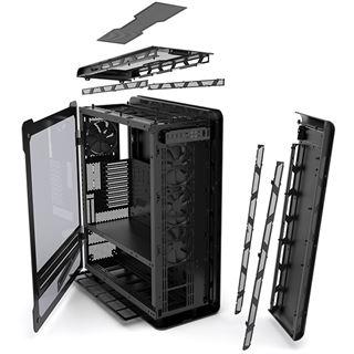 Phanteks Enthoo Elite mit Sichtfenster Big Tower ohne Netzteil schwarz