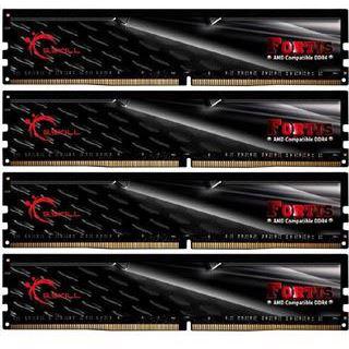 32GB G.Skill Fortis schwarz DDR4-2133 DIMM CL15 Quad Kit