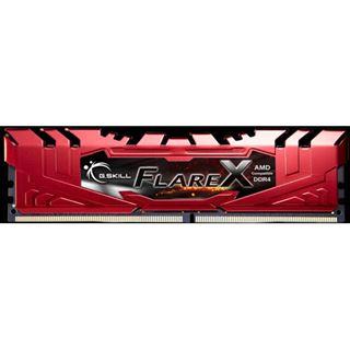64GB G.Skill Flare X rot DDR4-2400 DIMM CL16 Quad Kit