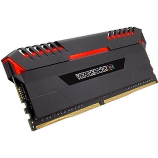 32GB Corsair Vengeance RGB DDR4-3000 DIMM CL15 Quad Kit