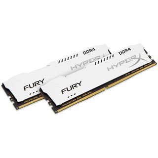 32GB HyperX FURY weiß DDR4-2666 DIMM CL16 Dual Kit