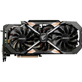 11GB Gigabyte GeForce GTX 1080 Ti AORUS Aktiv PCIe 3.0 x16 (Retail)