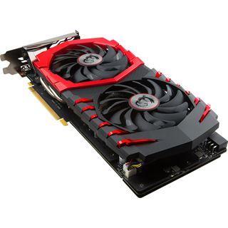6GB MSI GeForce GTX 1060 GAMING X+ 6G Aktiv PCIe 3.0 x16 (Retail)