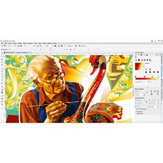 Corel CorelDraw Graphics Suite 2017 32 Bit Deutsch Grafik Upgrade 1 User PC (DVD)