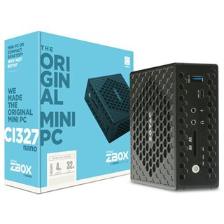 ZOTAC ZBOX-CI327NANO N3450 Intel HD Grafik Win10 VGA HDMI DP