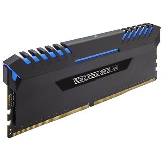 32GB Corsair Vengeance RGB DDR4-2666 DIMM CL16 Quad Kit