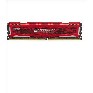4GB Crucial Ballistix Sport LT rot DDR4-2400 DIMM CL16 Single