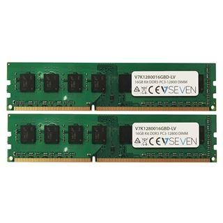 16GB V7 DDR3L-1600 DIMM CL11 Dual Kit