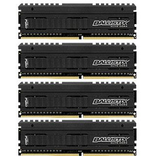 16GB Crucial Ballistix Elite DDR4-3000 DIMM CL15 Quad Kit