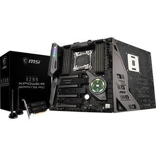 MSI X299 XPOWER GAMING AC Intel X299 So.2066 Quad Channel DDR4 EATX Retail