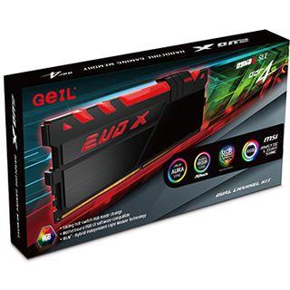 16GB GeIL EVO X schwarz DDR4-2400 DIMM CL16 Dual Kit
