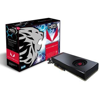 8GB HIS Radeon RX Vega 64 AIR Black Aktiv PCIe 3.0 x16 (Retail)