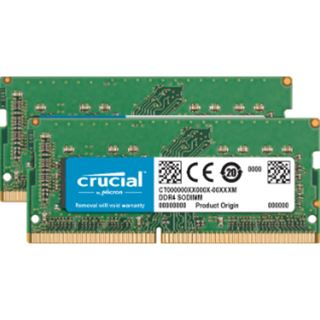32GB Crucial CT2C16G4S24AM DDR4-2400 SO-DIMM CL17 Dual Kit
