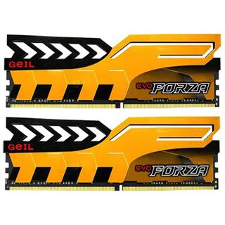 16GB GeIL EVO Forza gelb DDR4-3000 DIMM CL15 Dual Kit