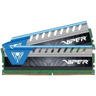 16GB Patriot Viper Elite blau DDR4-2666 DIMM CL16 Dual Kit