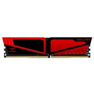16GB TeamGroup T-Force Vulcan rot DDR4-2400 DIMM CL15 Single
