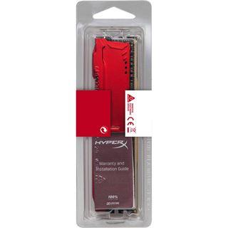 8GB HyperX FURY rot DDR4-2400 DIMM CL15 Single