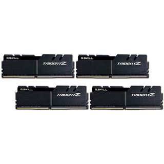 64GB G.Skill Trident Z schwarz DDR4-3600 DIMM CL17 Quad Kit